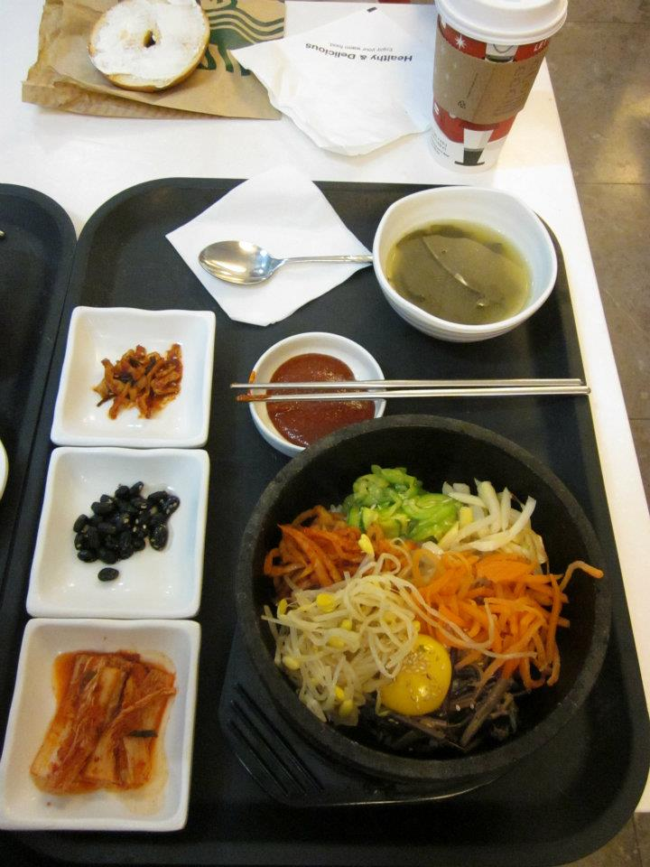korean food: bibimbop