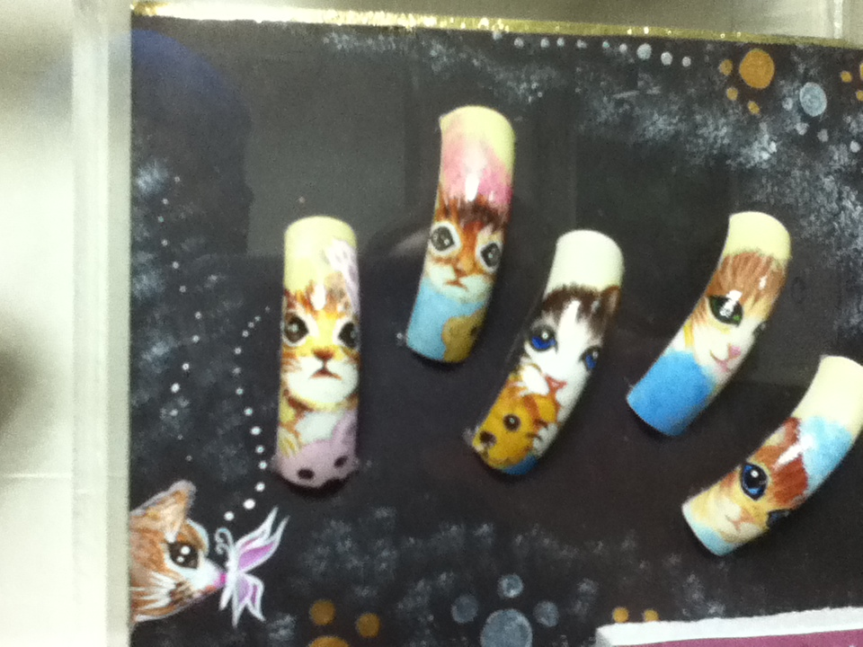 cat nails in seoul