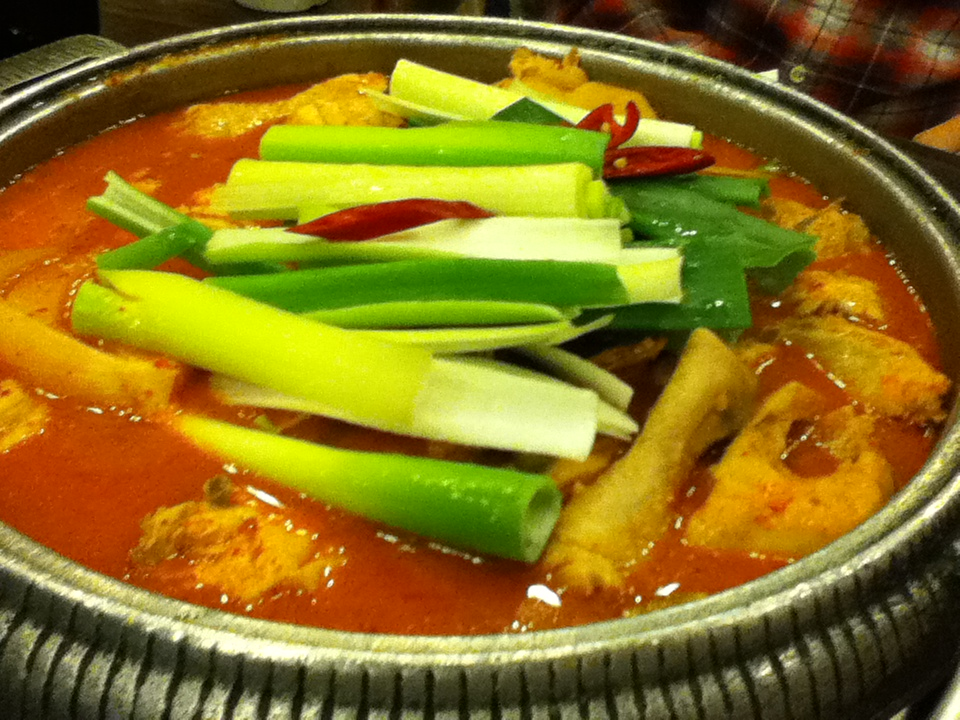 korean food: Dakdoritang