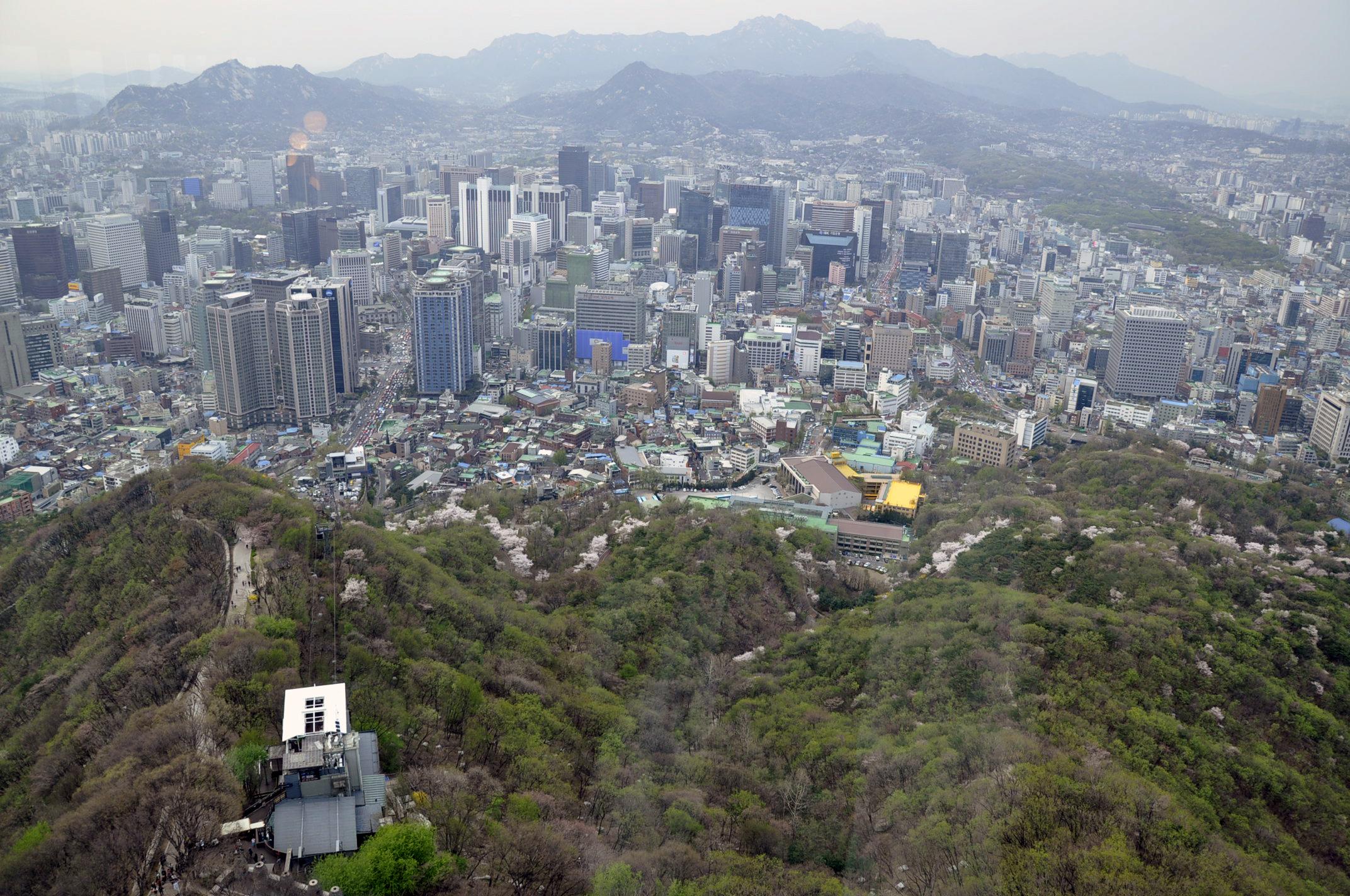Namsan Park  Seoul 남산공원 서울  Official Korea Tourism