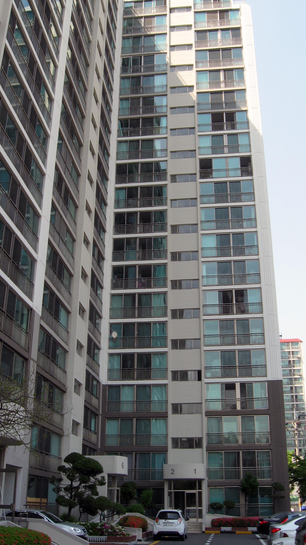 apartment building in Gwangju-si South Korea