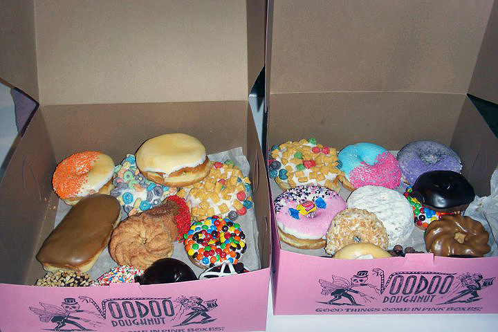 Voodoo doughnuts are one of my favorite things about portland