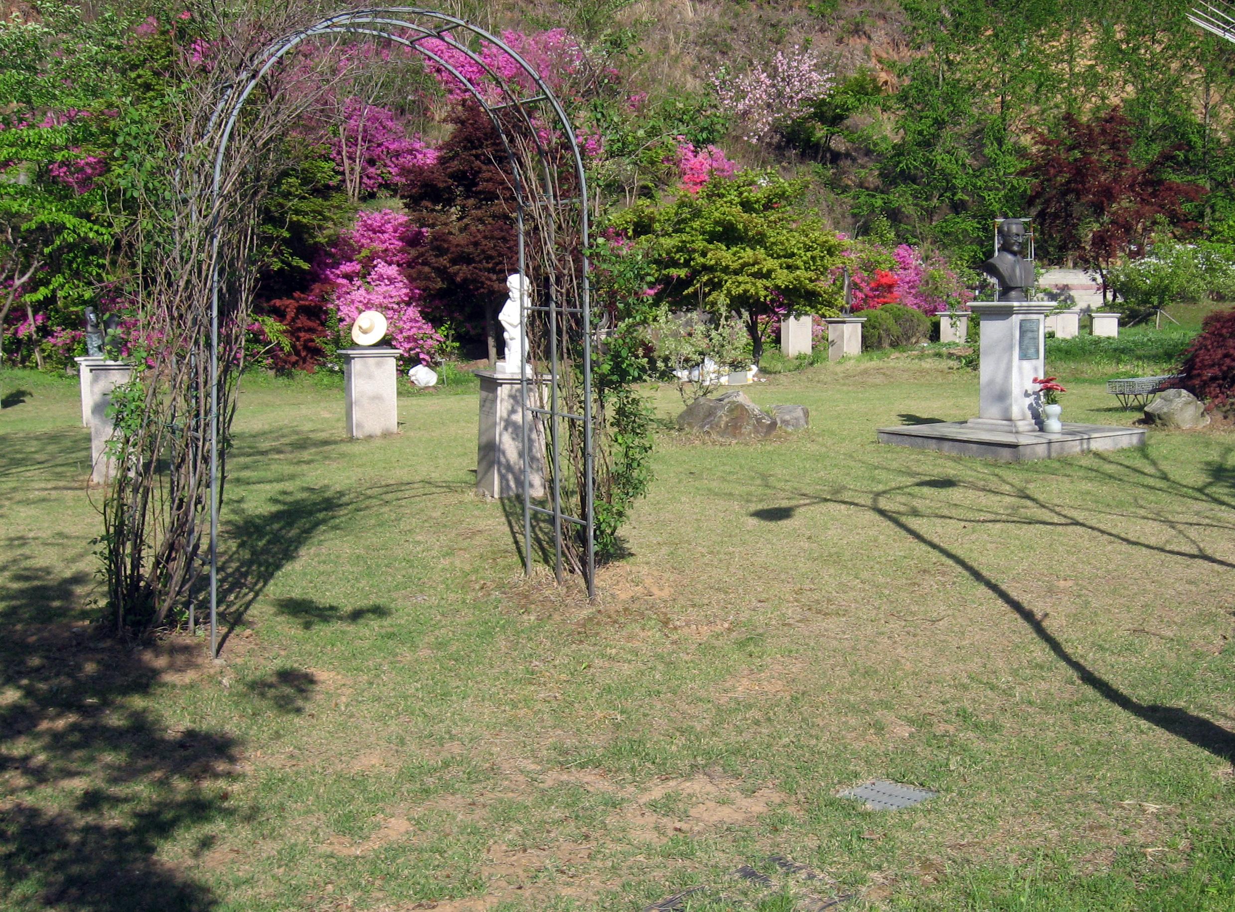 Gwangju-si graveyard