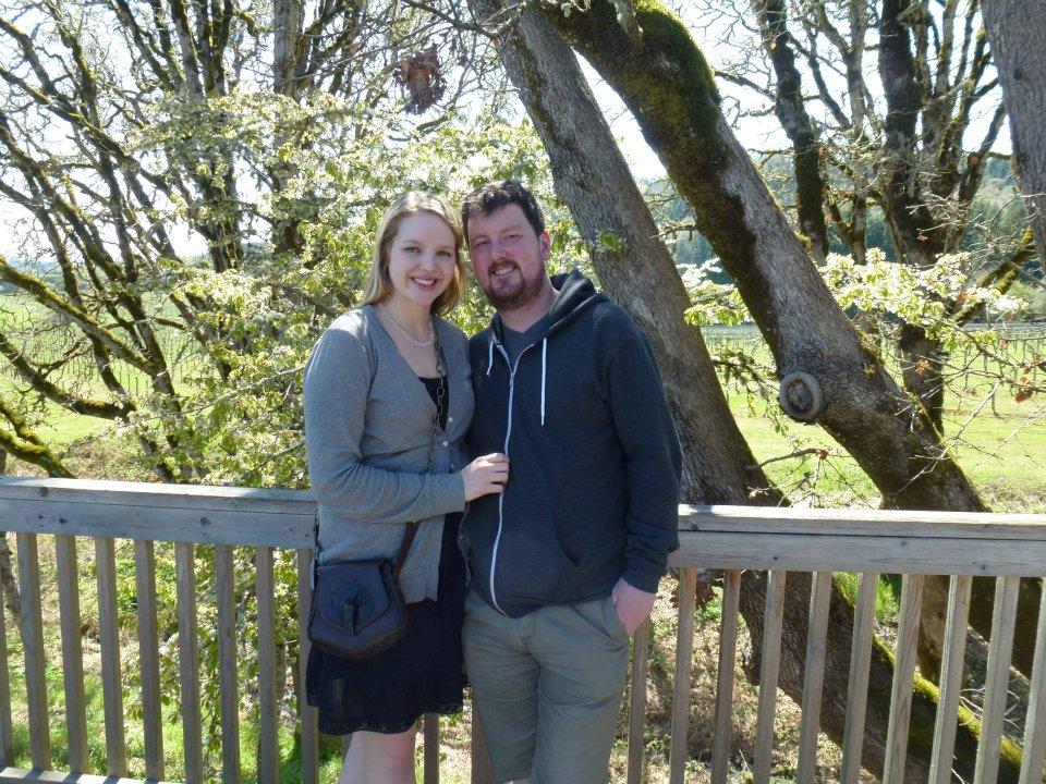 My sister Jillian and her boyfriend Conor.