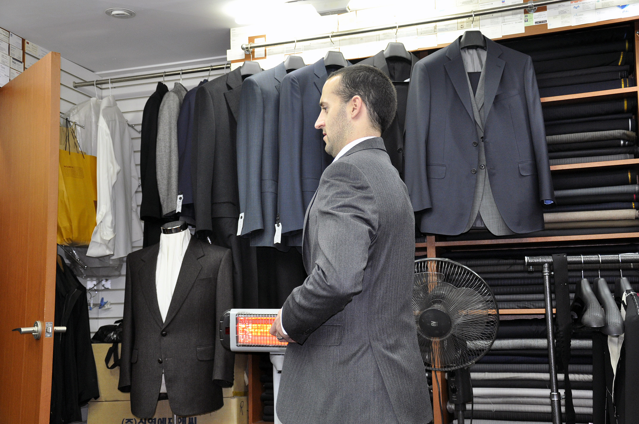 Getting a custom made suit in Seoul